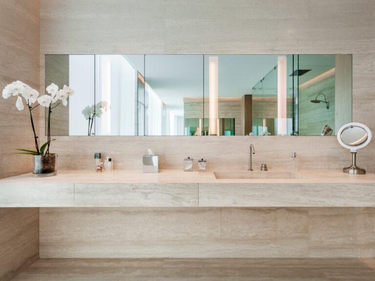 Continuum Miami marble vanity
