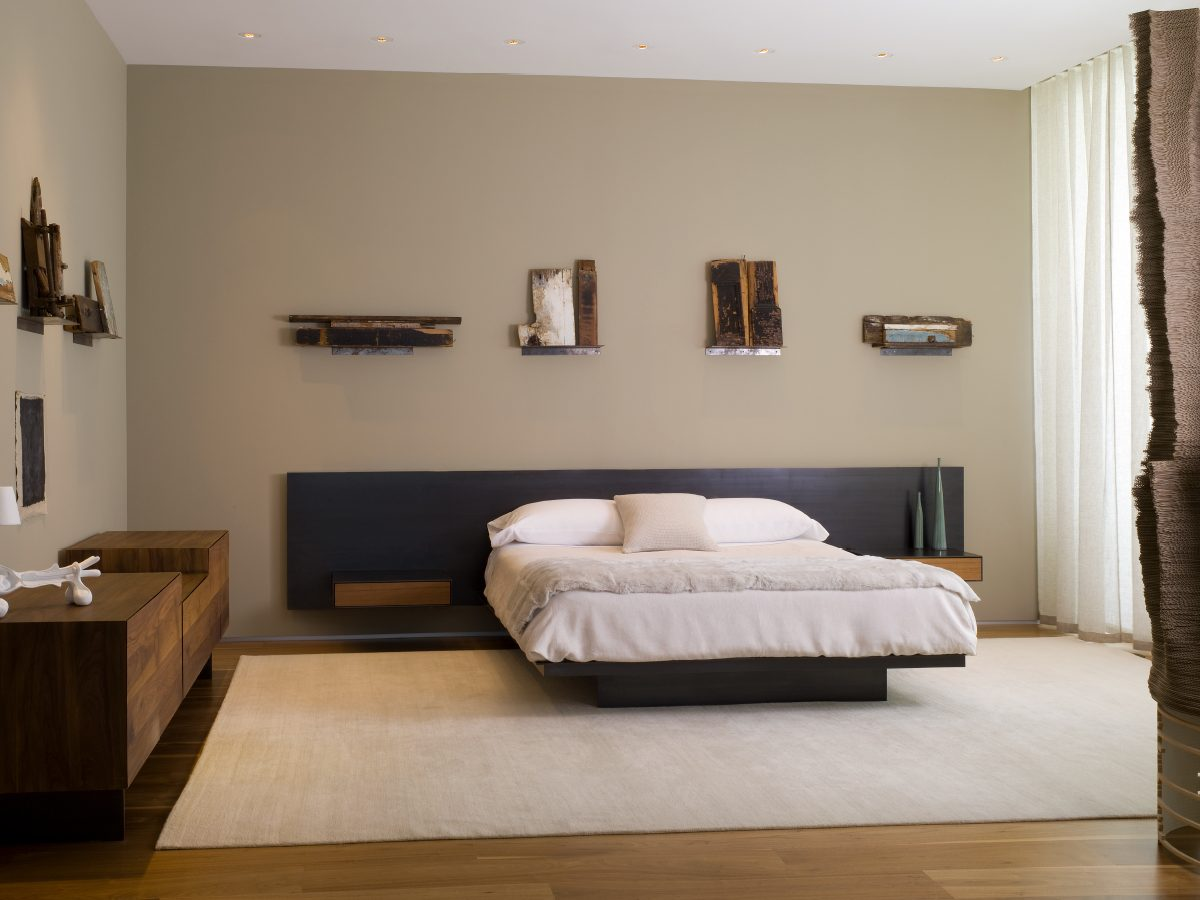Apogee Miami residence modern bedroom