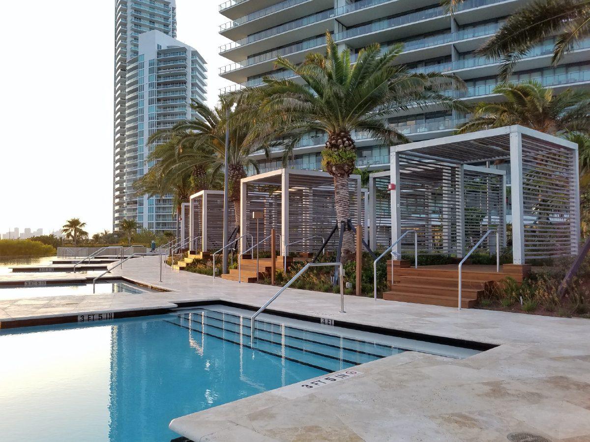 PtrBlt Miami Apogee pool deck spa and hotel