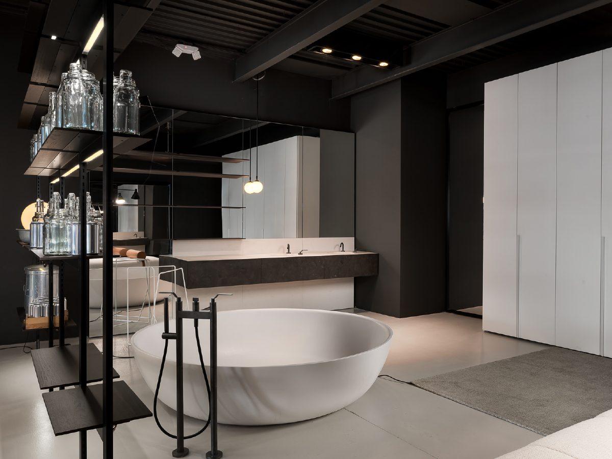 Boffi Showroom Miami bathroom