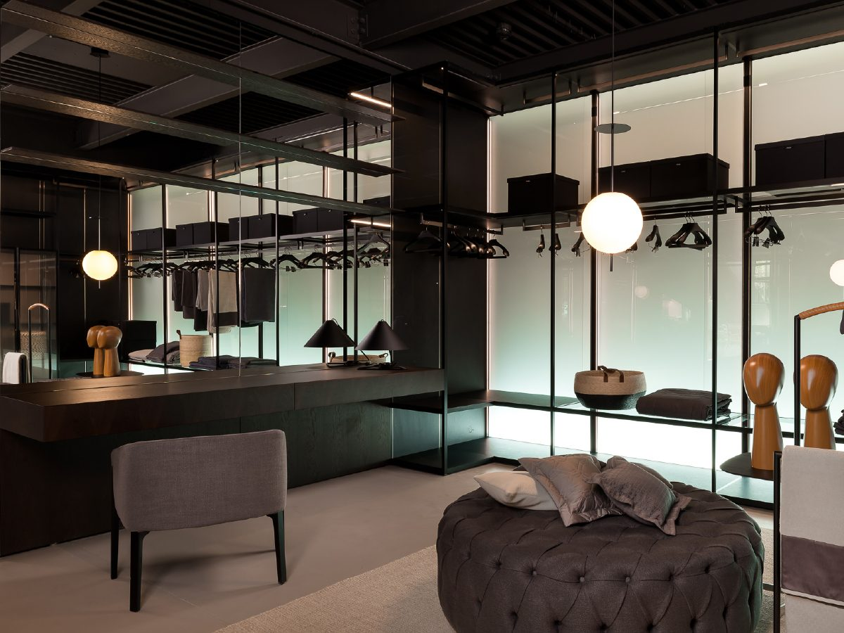 Boffi Showroom Miami office lounge