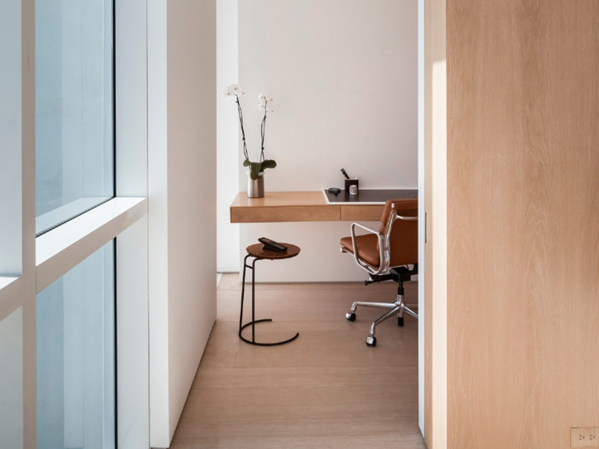 Continuum North Miami private residence office hallway