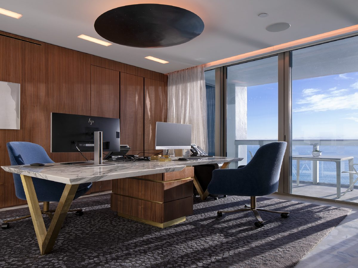 Carillon Miami office with ocean view