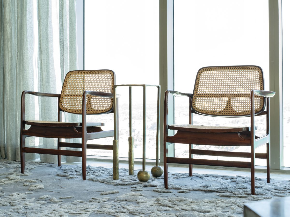 Carillon Miami residence modern office chairs