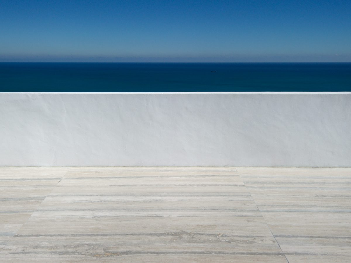 Continuum PH Miami residence deck ocean view detail