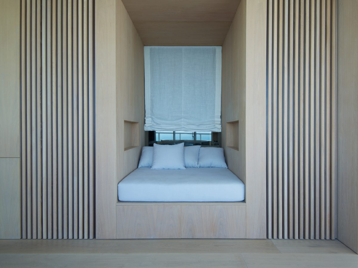 Continuum PH Miami residence bed built into the wall