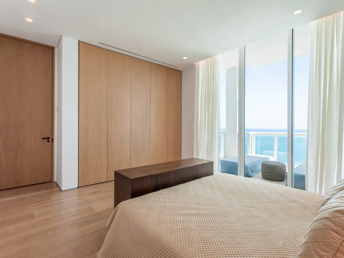Continuum Miami Private PH Residence bedroom
