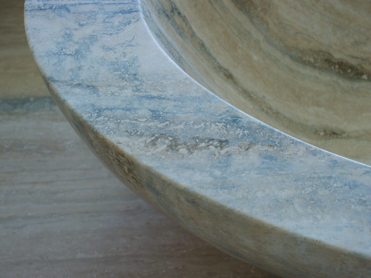 Continuum PH Miami residence marble sink detail