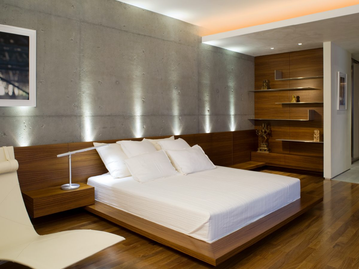 Continuum Miami residence bedroom
