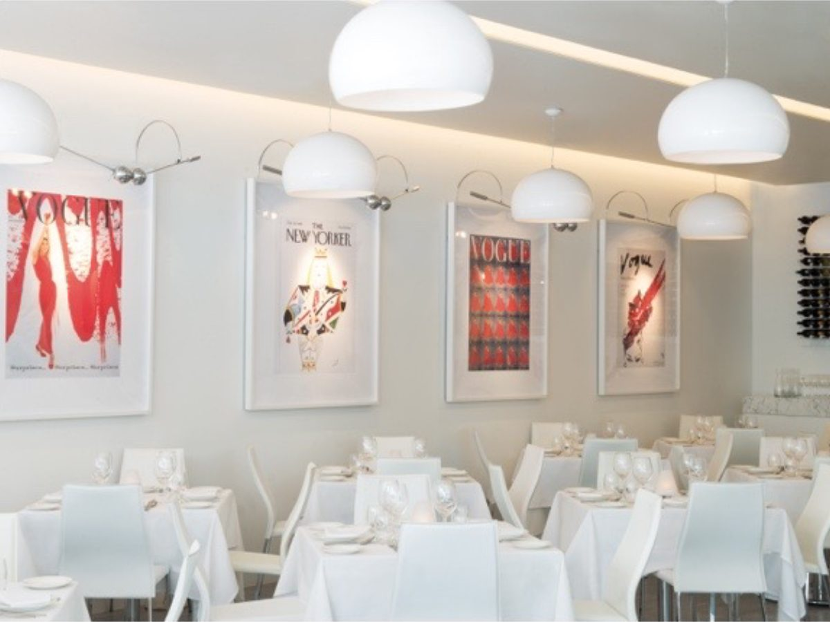 Il Mulino Miami restaurant dining room