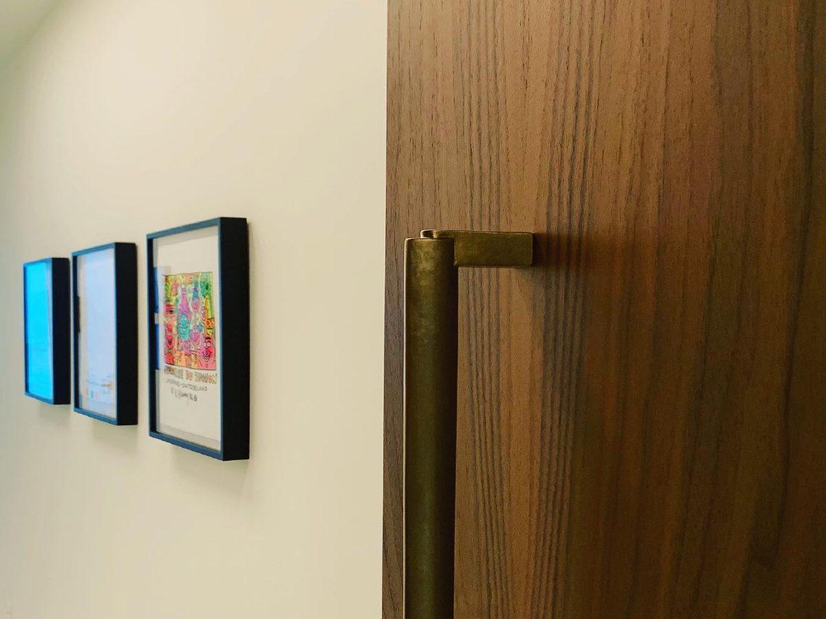 Carillon Miami residence hallway door detail
